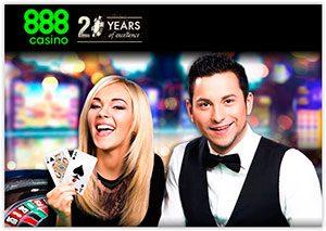 melhores casinos online 888casino